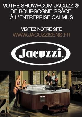 Jacuzzi : Votre Showroom Jacuzzi® de Bourgogne grâce à l'entreprise Calmus