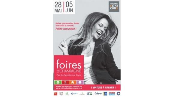 Nous serons présents sur la foire de Troyes du 28 mai au 05 juin 2016